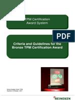 TPM Bronze Award Criteria and Guidelines Oct_2011_ Rev_4