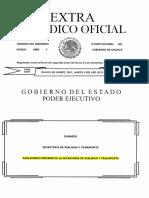 Reglamento de Vialidad y Trasporte de Oaxaca