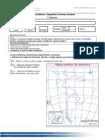 Prueba Historia Mapa y Zonas de Chile.