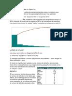 Diagrama de Pareto y Matriz de Cp