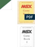 Msx Game Book