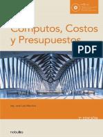 Computos, Costos y Presupuestos