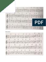 Handbell Melody Parts