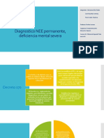 Diagnostico NEE Permanente, Deficiencia Mental Severa