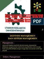 1. Kebijakan SMK3 PP 50 2012