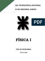 Guía de Problemas Física I. Haedo.pdf