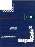 SuperCalc 2 MSX - Manual do Usuário