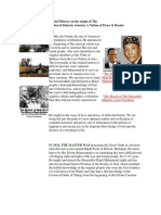A Brief History on the Origin of the Nation of Islam