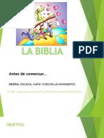 La biblia 5°B