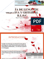 Batería de Lenguaje Objetiva y Criterial BLOC