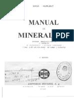 Manual de Mineralogia DANA 2da Edicion