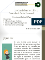 Método de Incidente Critico