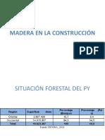 Madera en la construcción. Paraguay
