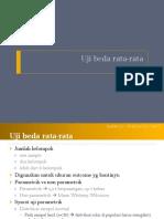 Biostatistika 08 Uji beda rata-rata.pptx