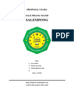 Sale Pisang Proposal Jadi
