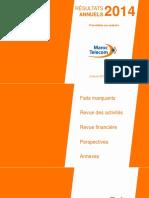 Maroc-Telecom Presentation Resultats FY2014-FR