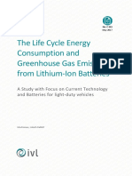 c243 the Life Cycle Energy Consumption and Co2 Emissions From Lithium Ion Batteries
