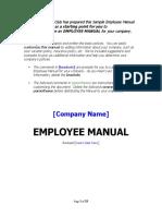 Employee Manual Template.doc