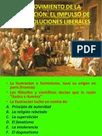 3ª El Movimiento de La Ilustración El Impulso de Las Revoluciones Liberales