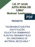Proyecto Jardines