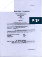 HDPE MSDS