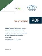 Reporte Museo Interctivo de Economía CDMX