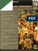 Revista Ciencias Sociales Vol. 5 No 2