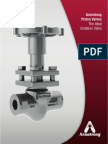 Armstrong Isolation Valve