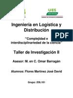 Complejidad e Interdisciplinariedad de La Ciencia