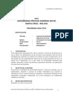 Universidad Privada Domingo Savio Santa