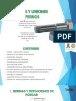 Diapositivas de Tornillos Y Uniones Con Pernos