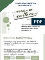 Teoria de Las Espectativas