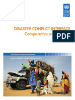 Disaster Conflict Interface Comparative Experiences