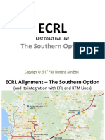 ECRL - The Southern Option