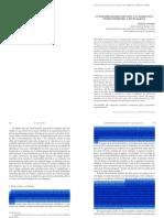 Walton, R.J., La fenomenología del Don y la dialéctica entre disimetría y mutualidad