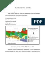 Regional Geologi - Slawi