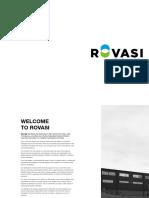 Rovasi Lighting Catalogue 2016