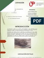 Lixiviacion en Pilas Metalurgia
