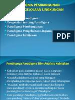 1b Paradigma Pembangunan