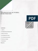 Tolerancias de Forma y Posicion en Español