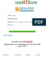 New Pass4itsure Microsoft 070-464 PDF Dumps - Developing Microsoft SQL Server 2012 Databases