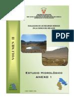 Estudio Hidrológico Cuenca Río Ilave 2008 - Anexo 1