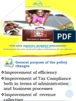 Domestic Taxes Policy Changes For The FY 2017/18