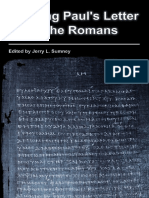 (SBL Resources for Biblical Study 73) Jerry L. Sumney-Reading Paul's Letter to the Romans-Society of Biblical Literature (2012)