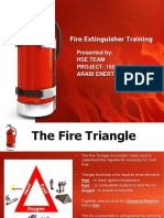 Fire Extinguisher Training Safety