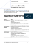How to Crack Exam on SAS Certified Clinical Trials Programmer Using SAS 9