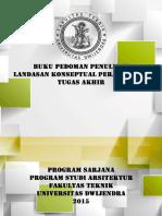 Buku Pedoman Tugas Akhir 2015