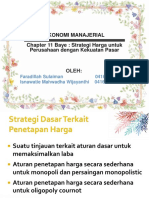Ekonomi manajerial Presentasi Bab 11