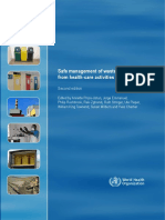 WHO - Safe Management of Wastes From Healthcare Activities