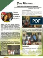Boletin 167 Informe Misionero de Mozambique - Junio 2010